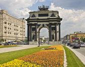莫斯科的凯旋门 — 图库照片