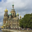 St. Petersburg, cathedral of Resurrection of Jesus Christ (Savio — Stock Photo