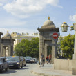 Stock Photo: St. Petersburg, Lomonosov bridge