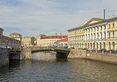 St. Petersburg, bridges — Stock Photo