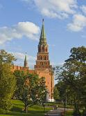 Moscow, Kremlin tower — Stock Photo