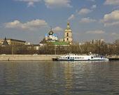 Moskva, novospasský klášter — Stock fotografie