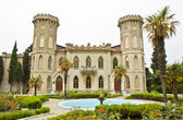 "Palace in Gaspra ""Romantic Alexandria"", Crimea — Stock Photo"