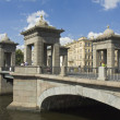 St. Petersburg, Lomonosov bridge - Stock Photo