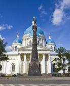 St. Petersburg, Trinity Izmaylovskiy cathedral — Stock Photo