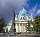 St. Petersburg, Trinity Izmaylovskiy cathedral — Stockfoto