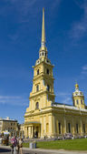 St. Petersburg, cathedral of St. Peter and Paul — Stock Photo