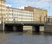 圣彼得斯堡,alarchin 桥 — 图库照片