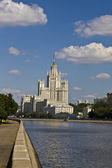 Moscow, high-rise building — Stock Photo
