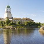 Castle in Vyborg, Russia — Stock Photo #21199751