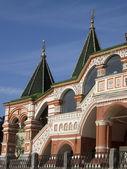 St. Basil's (Pokrovskiy) cathedral, detail — Stock Photo