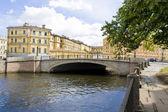 St. Petersburg, Mogilevskiy bridge — Stock Photo