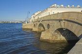 St. petersburg, pralni most — Zdjęcie stockowe