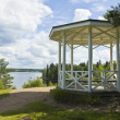 Pavilion on coast, Monrepo - Stock Photo