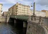 αγία πετρούπολη, γέφυρα alarchin — Φωτογραφία Αρχείου