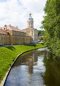 St. Petersburg, monastery Lavra of Alexander Nevskiy — Stock Photo