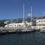 Yalta, port — Stock Photo
