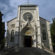Yalta, catholic cathedral — Stock Photo