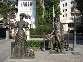 Yalta, monument to Chehov — Stock Photo