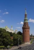 Moskou, kremlin toren — Stockfoto