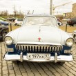 Foto Stock: Rally of classical cars, Moscow, VolgGAS 22