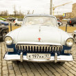 Rally of classical cars, Moscow, Volga GAS 22 — Stock Photo