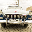 Stock Photo: Rally of classical cars, Moscow, VolgGAS 22