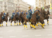 Parade of festival of military orchestras, Moscow — Stock Photo