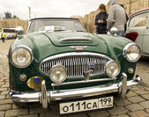 Retro car Austin-Healey — Stock Photo