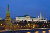 Moscow, Kremlin at night — Stock Photo