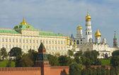 Mosca, palazzo del cremlino e cattedrali — Foto Stock