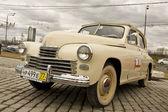 """Russian retro car """"Pobeda"""" (Victory) — Stock Photo"""