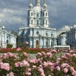Stock Photo: St. Petersburg, Resurrection cathedral of Smolniy monastery
