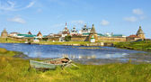 Solovki, monastery — Stock Photo