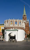 Moscow, entrance to Kremlin — Stock Photo