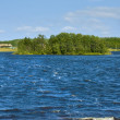 Holly lake on Big Solovki island — Stock Photo