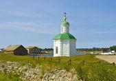 şapel solovki adası, rusya federasyonu — Stok fotoğraf