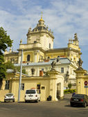 Lvov, cathedral of Saint Yura — Stock Photo