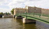 St. Petersburg, Krasnoarmeyskiy bridge — Stock Photo