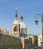 St. Petersburg, St. Panteleymon's church — Stock Photo