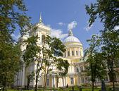 Saint Petersburg, monastery Alexander Nevskiy lavra — Stock Photo