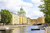 St. Petersburg, cathedral of St. Isidor — Stock Photo