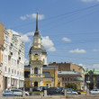 Stock Photo: St. Petersburg, church of AnnProphetess and St. Simenon