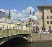 St. Petersburg, Kirche st. Pantelejmon — Stockfoto