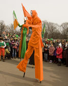 St. Patricks day in Moscow — Stock Photo