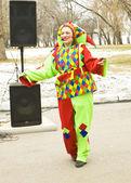 Settimana di frittella festival di primavera in russia — Foto Stock