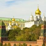 Постер, плакат: Moscow Kremlin cathedrals