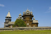 Wooden churches in Kizhi, Russia — Stockfoto