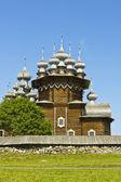 Wooden churchs on Kizhi island, Russia — Stock fotografie
