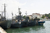 Sevastopol, navy parade  — Stock Photo